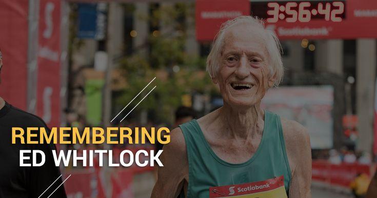 Remembering Ed Whitlock. By Kate Van Buskirk - Canada Running Series