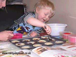 Jam Tart making