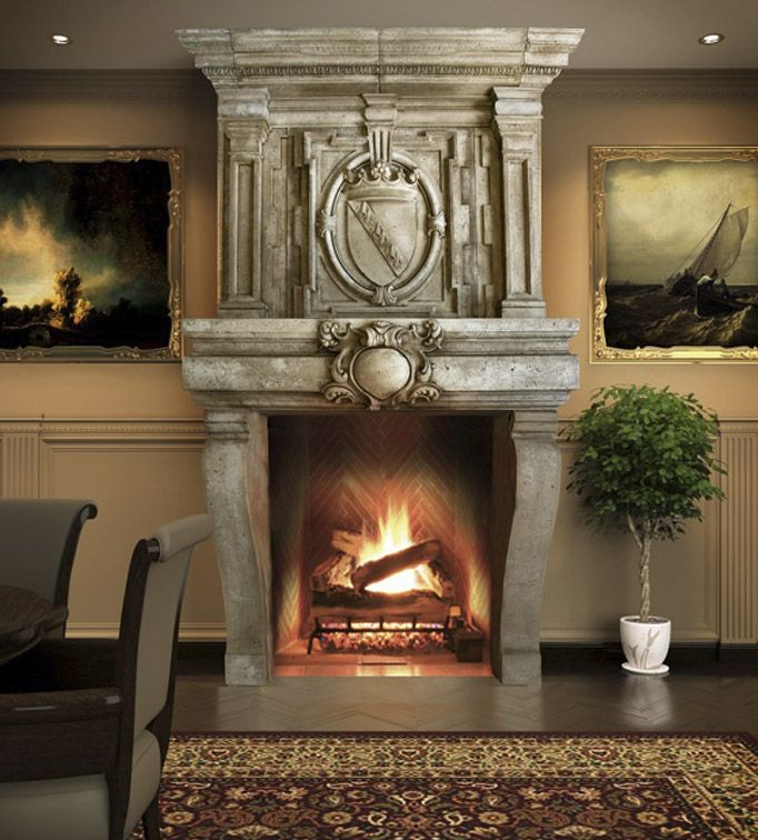 26 best Stone Mantles Overmantles Fireplaces images on