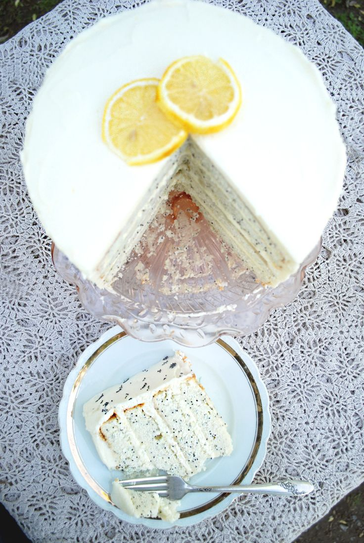 ... up and posting other recipes for Vegan Lemon Poppy Seed Cakes! x