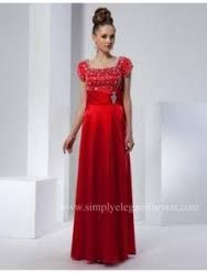 A cute and stylish but modeset ballroom dress