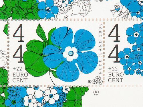 Nederland stamps - 2008