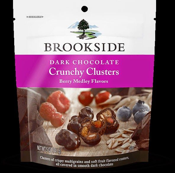 It's This or Murder...: Brookside Dark Chocolate Crunchy Clusters. #DiscoverBrookside #BrooksideChocolate