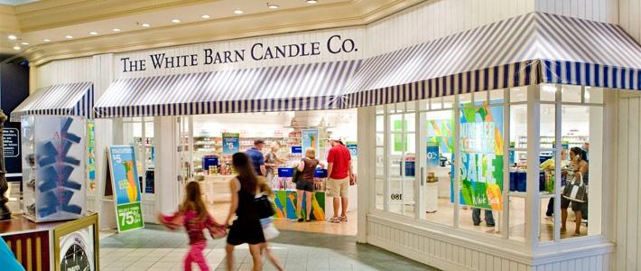 White Barn Candle Co Store Easton Columbus Ohio