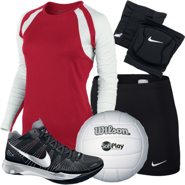 """Volleyball Uniform"" by ugafaninky on Polyvore"