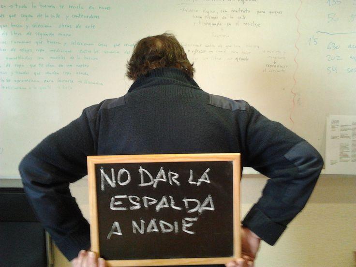 """""""Uno de los objetivos de ATD Cuarto Mundo es no dar la espalda a nadie, lo que es fundamental para atender a los más necesitados"""" - Alfonso"""