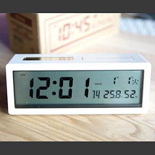MUJI (無印良品) - seiko 目覚まし時計