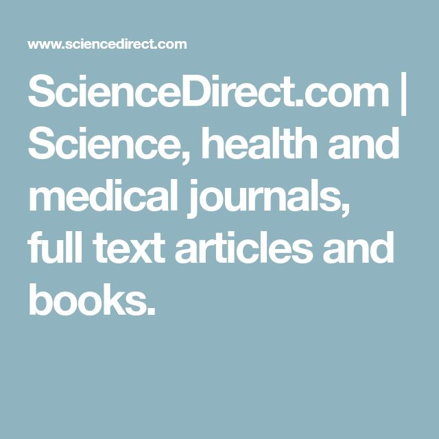 ScienceDirect.com | Science, health and medical journals, full text articles and books.  This database was useful throughout the semester to locate high quality scientific journals. Easy to use and download resources.