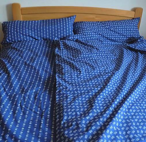 hakoska / FILKI posteľné návliečky so vzorom modrotlače