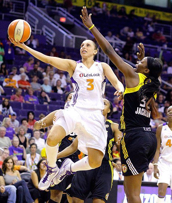 Diana Taurasi of the Phoenix Mercury. Kobe calls her the White Mamba