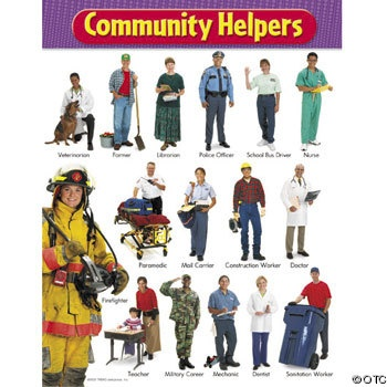 1000+ images about Education-Theme: Community Helpers on Pinterest ...