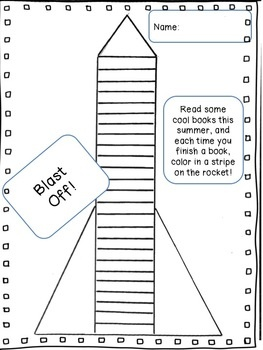 Maybe make something like this to encourage quiet story listening? (Blast Off! Easy-breezy summer reading chart.)