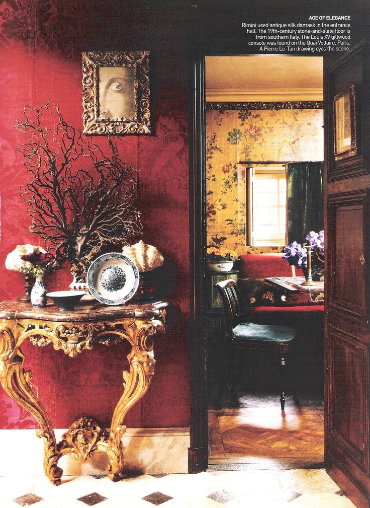 The Paris Left Bank Apartment Of Architect Laura Sartori Rimini Studio Peregalli Milan