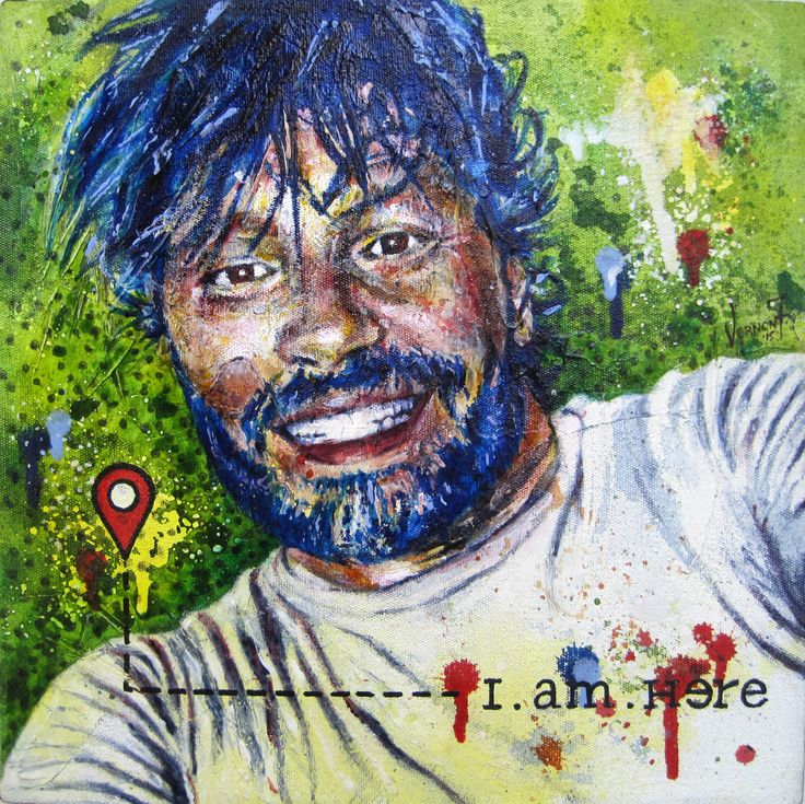 """""""I am Here"""" by Vernon Fourie 