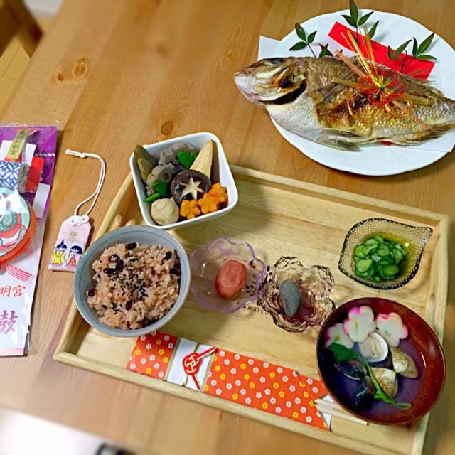 ㊗娘100日。 - 13件のもぐもぐ - お食い初め膳。 by asumi1022