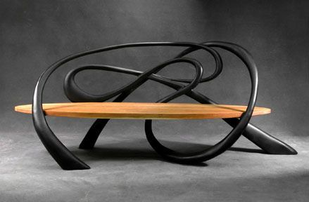 bench: Jeffrey Green, Art Benches, Benches Design, Artists Style, Chairs, Sculpture Furniture, Furniture Design, Design Studios, Spacewhip Benches