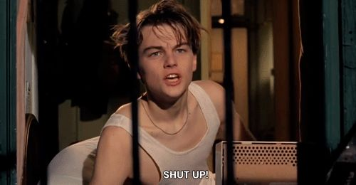 Pin for Later: 20 Reactions You Had to Leonardo DiCaprio's Big Win, as Told by GIFs From His Movies When You Read Tweets From the Haters