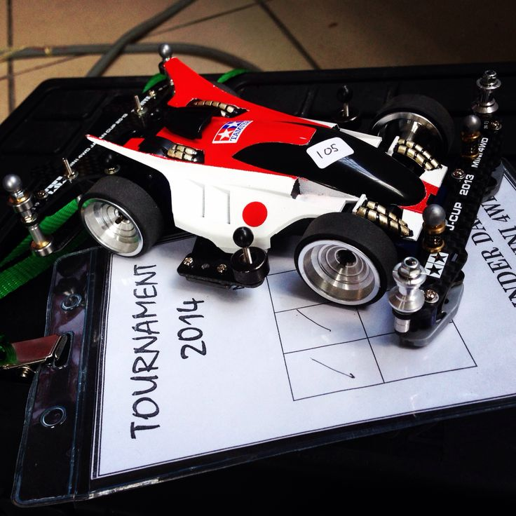 Resting between time attack. #tamiya #mini4wd