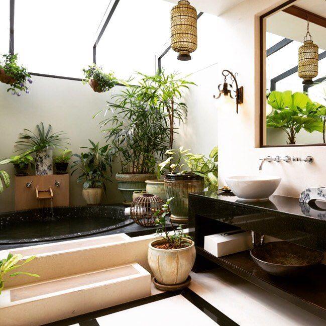 "43 Likes, 1 Comments - KokeDeco (@kokedeco) on Instagram: ""#kokedeco #plants #inspiration #bath"""