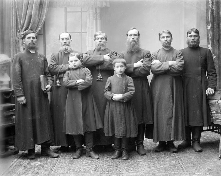 Дореволюционная Россия на фотографиях: Старообрядцы - История России до 1917 года