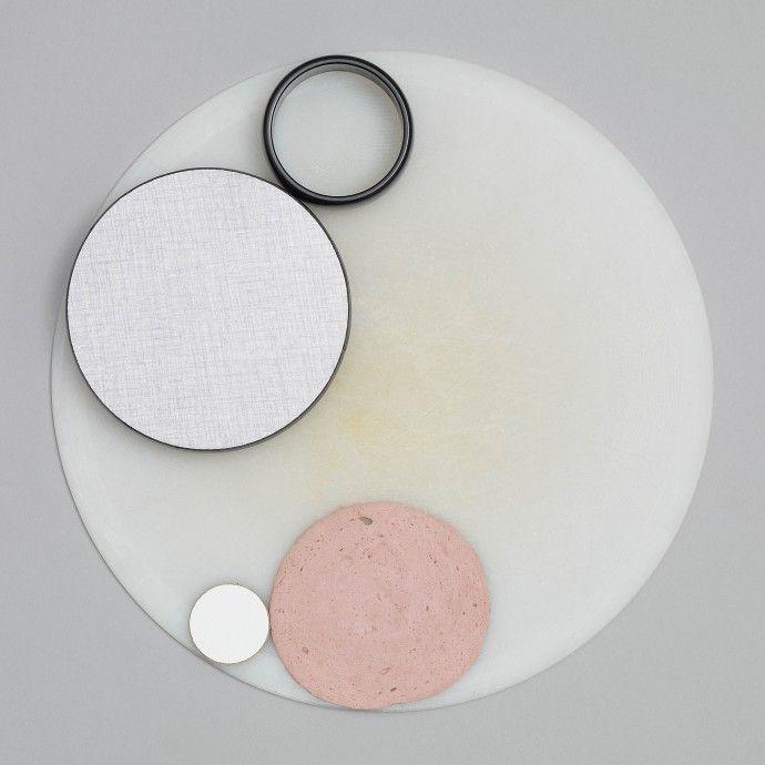 still life with circles