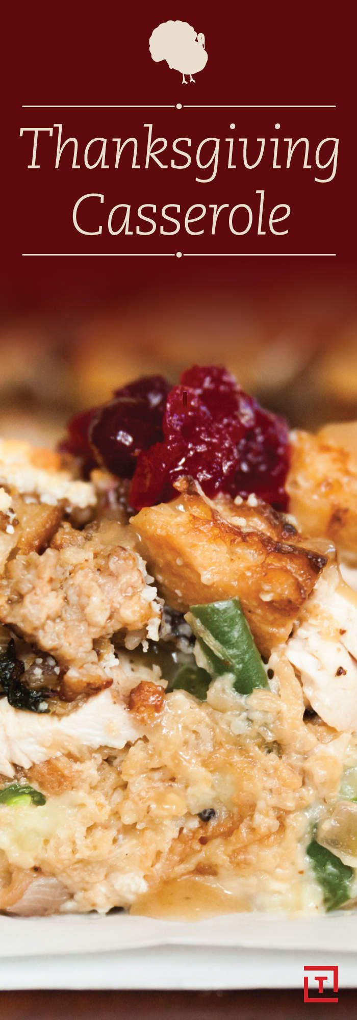 Thanksgiving casserole: the only way to eat your leftovers