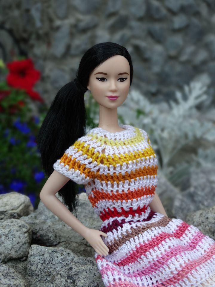 Азиатская красота. Кукла Барби Неко. / Куклы Барби, Barbie: коллекционные и игровые / Бэйбики. Куклы фото. Одежда для кукол