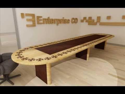 Masa din lemn masiv sau stratificat cu intarsie marmura