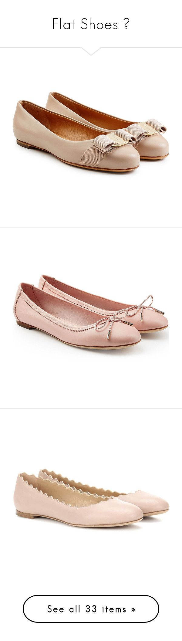 """Flat Shoes 👠"" by indahyogi ❤ liked on Polyvore featuring shoes, flats, beige, ballet pumps, ballet flat shoes, ballerina flat shoes, ballet shoes, leather ballet flats, pink and pink ballet shoes"