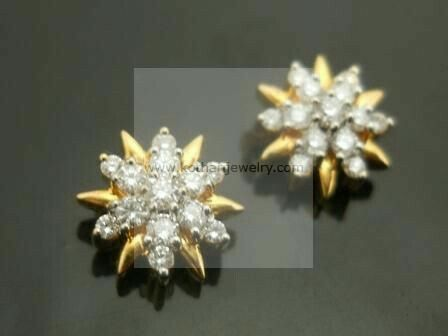 Diamond Earrings Jhumkis Bali Jewelry At Usd