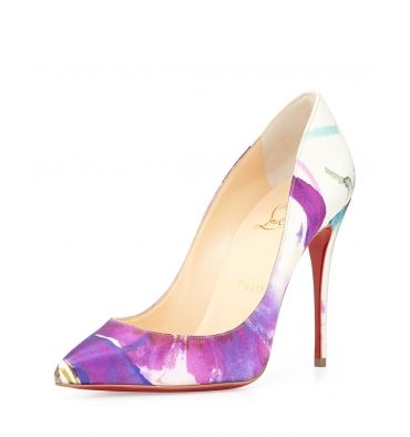 Christian Louboutin Pifalle Follies Satin Red Sole Pump - StoreTip