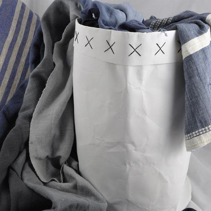 Large Washable Storage Bag - White