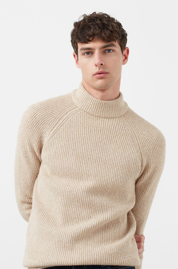 Swetry Przez głowę  - Mango Man - Sweter Saint