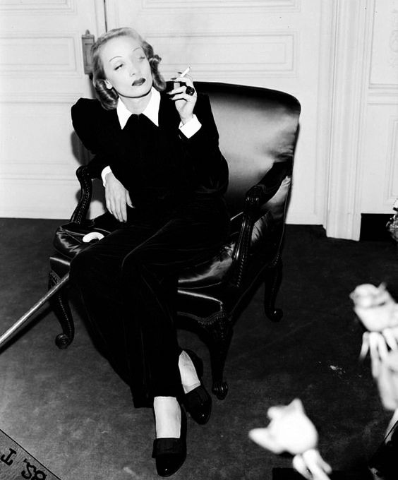 S for Stylish: Marlene Dietrich