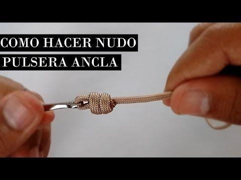 Como Hacer Nudo Pulsera Ancla / DIY How to make anchor bracelet knot ★MU...