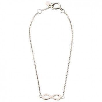 """Dieses romantische Armband """"Unendlicher Knoten"""" von Maija Design ist ein liebevoller Begleiter durch den Tag. Es soll dir Liebe und Zuneigung entgegenbringen, wo immer du bist, was immer du tust. Versandkostenfrei bei melovely.de"""