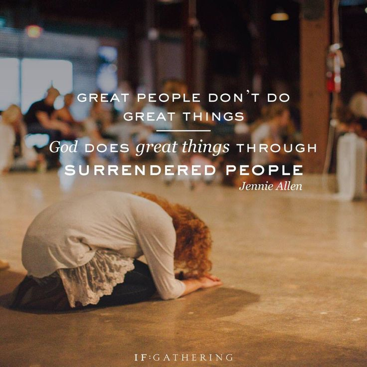 God does great things though surrendered people