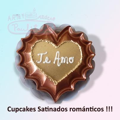 Cupcakes Satinados
