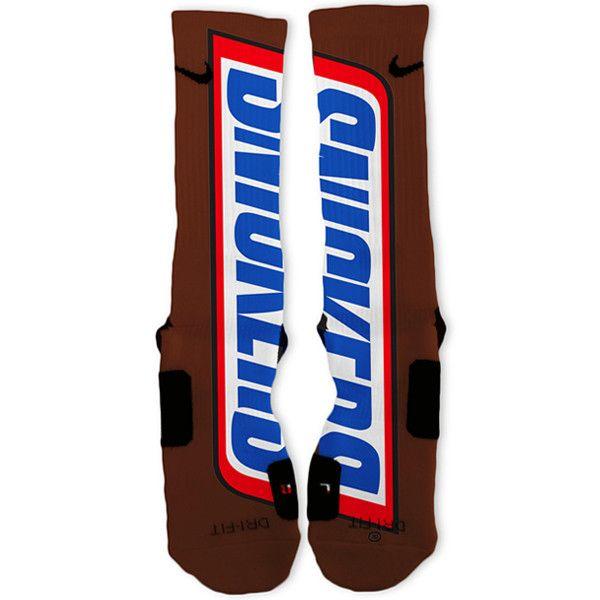 Snickers Custom Nike Elite Socks – Fresh Elites