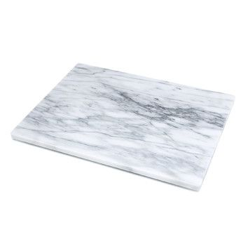 Features: -Pastry board. -Great to use when trying to keep dough cold while rolling it out. Material: -Marble / Granite. Use: -General Chopping Board. Shape: -Rectangle. Reversible: -Yes. Feet: