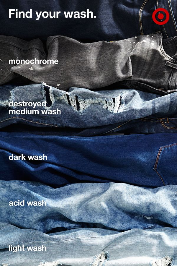 The notion of sticking to one and only one shade of denim is unrealistic. To make sure you have a go-to every day versus a go-to for only today, we've created 66 new washes—from the classic indigo to the monochrome and a marble-like acid wash. Each to fit your every mood and outfit. See how they look on you.