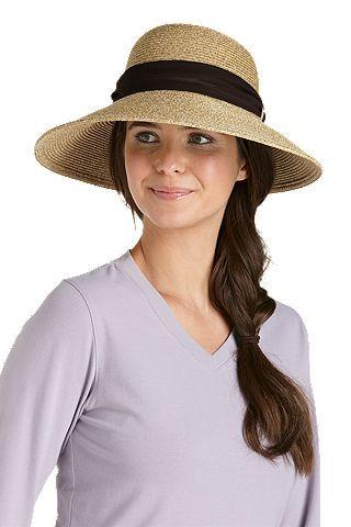 Tropicana Sun Hat: Sun Protective Clothing - Coolibar - sunhat with protection for the beach $50