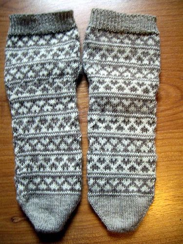 finished hearty-stripey-socks by knitfaced, via Flickr