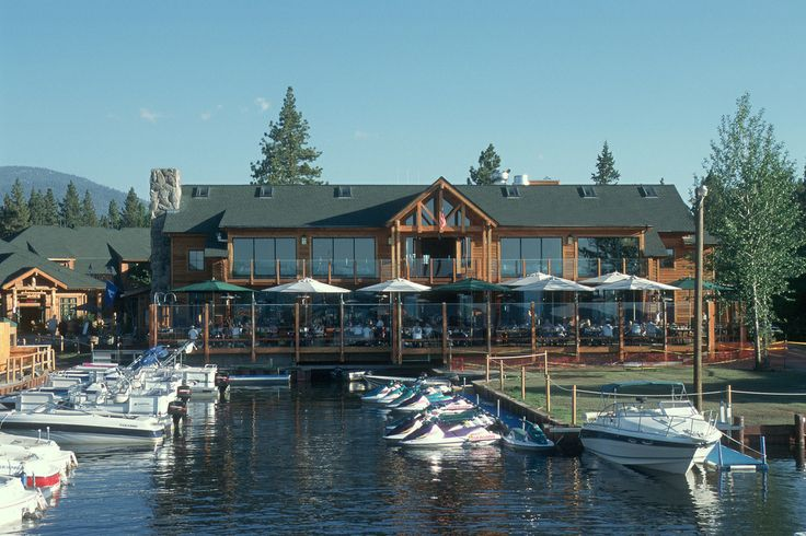 Riva Grill, best deck for having a cocktail with a view in south Lake Tahoe.