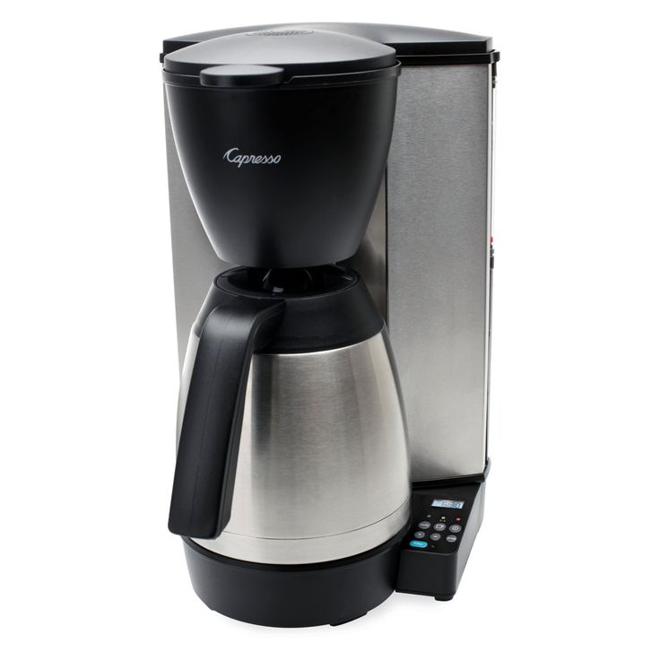 Jura Capresso MT600 Plus 10-Cup Programmable Coffee Maker with Thermal Carafe - 485.05