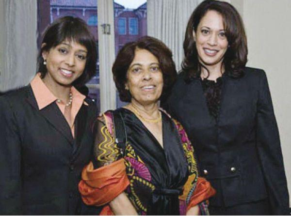 Maya Harris With Mother Shyamala Sister Kamala In 2020 Indian Goddess Sisters Daughter