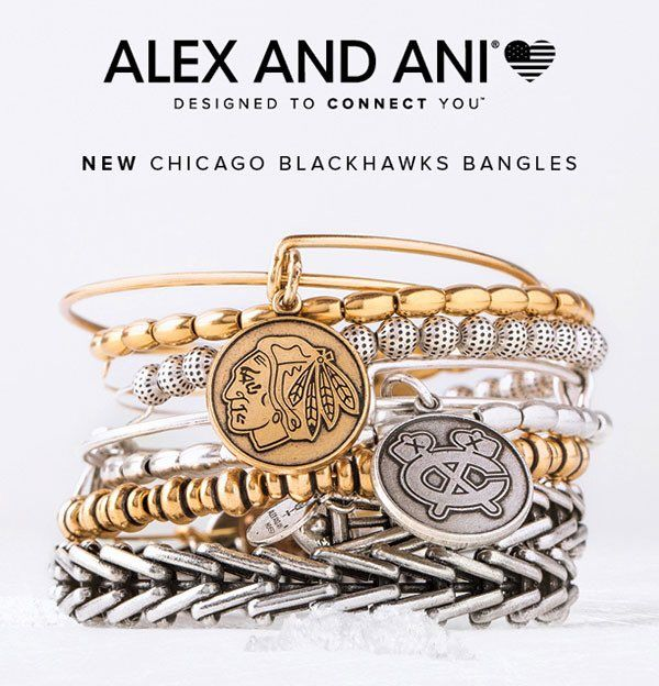 Alex and Ani bangles are coming soon to #Blackhawks Store locations! Stay tuned for more details!