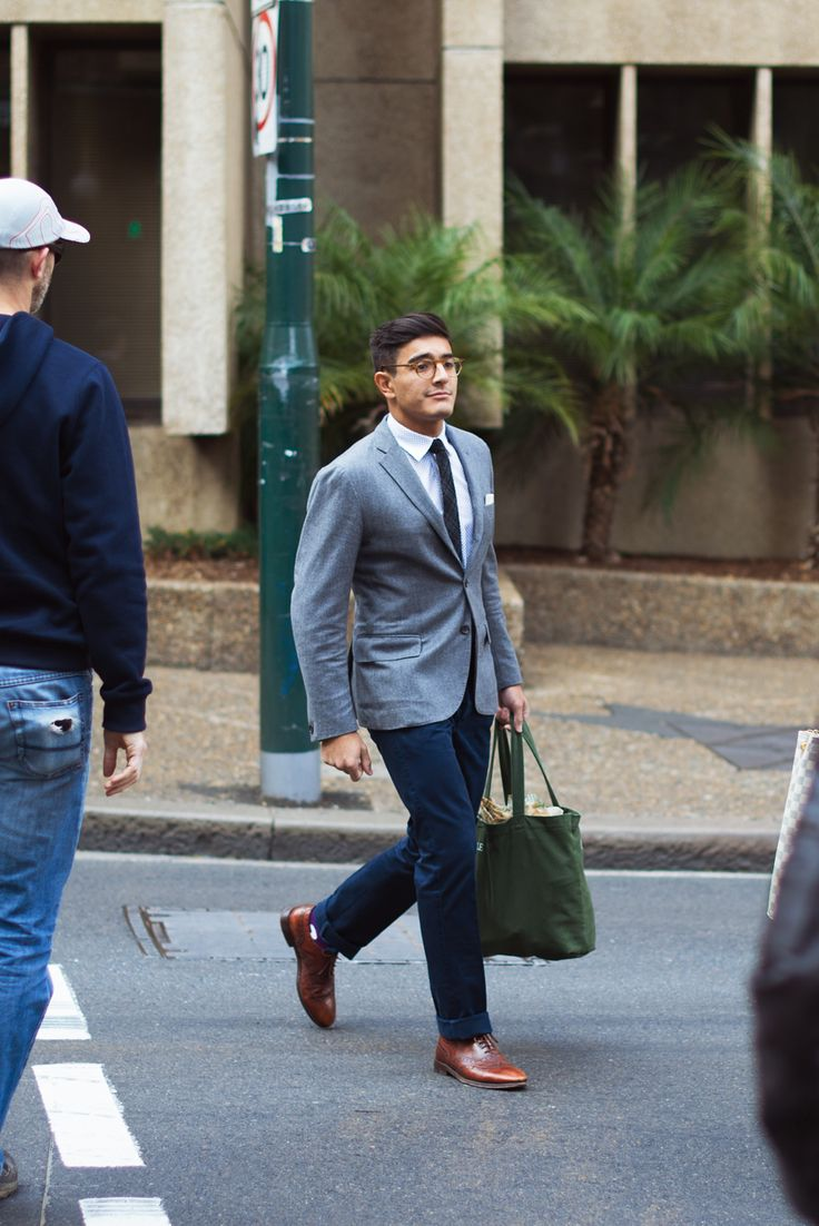 Model Outside Of That, Brown Shoes Are Essential A Navy Blazer Can Indeed Be Paired With Charcoal Pants, I Do It All The Time As For Khakis Unless Youre Wearing A Khaki Suit, Lets Leave Those In The Closet For The Weekend And Pair Them With