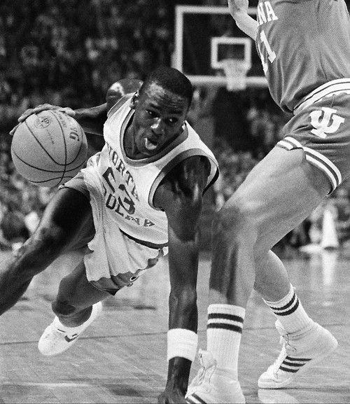 MJ vs Indiana in college