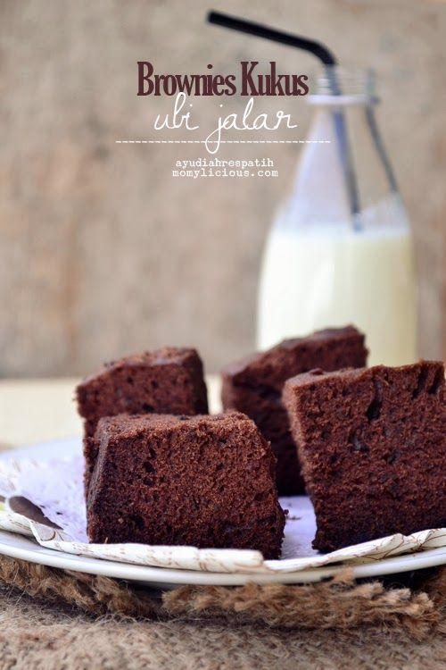 Brownies Kukus Ubi Jalar